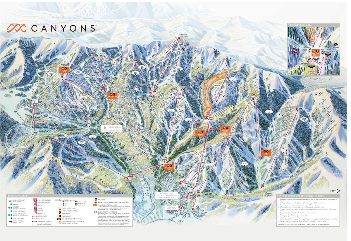CanyonsTrail Map